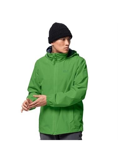 Jack Wolfskin Jack Wolfskin Stormy Point M Outdoor Erkek Ceket Yeşil